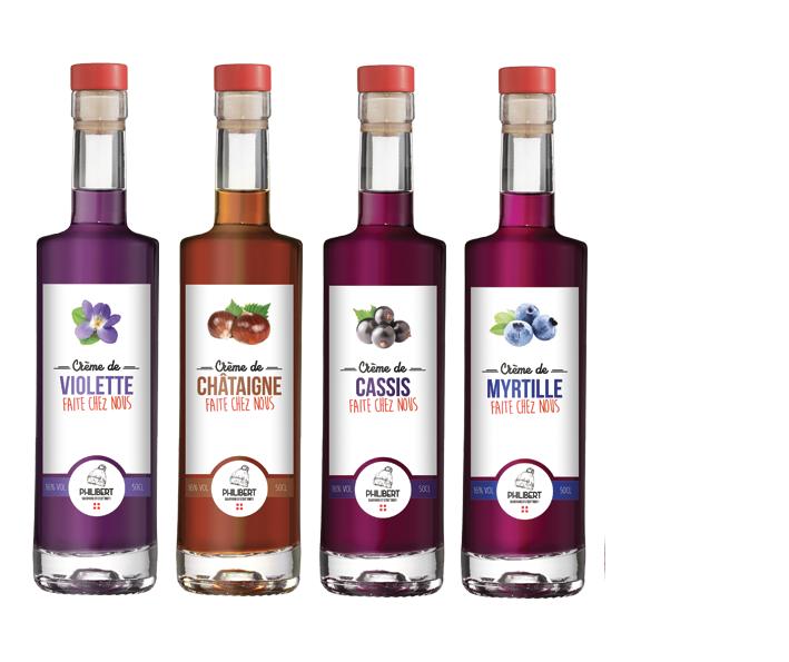 Les Cremes De Fruits Distillerie Des Alpes